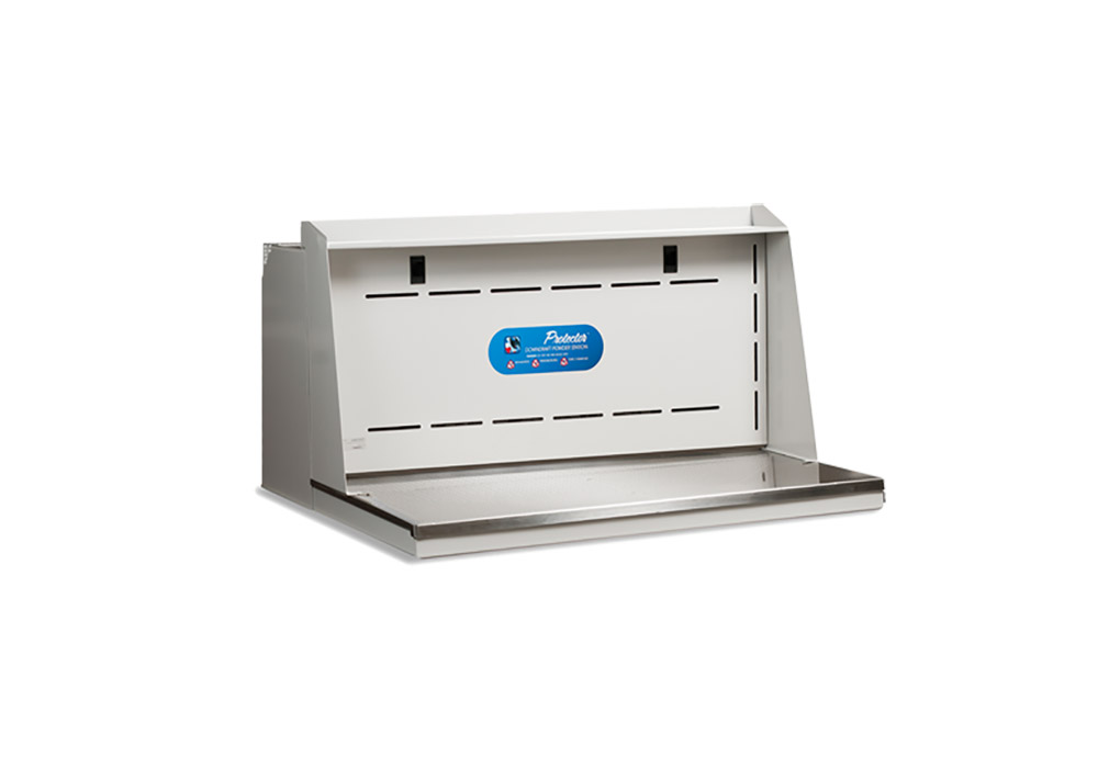 Protector Downdraft Powder Station