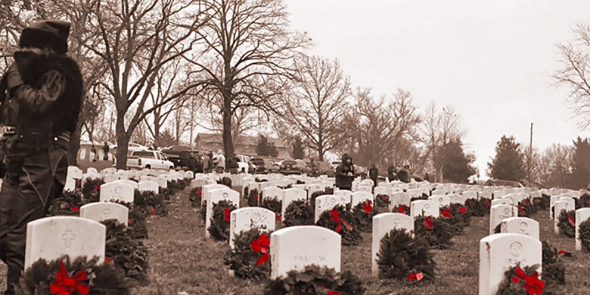 People at Labconco: 5th Annual Wreath Ride at Fort Scott Cemetery