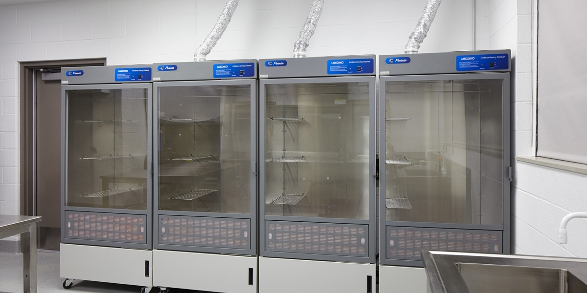 Forensic KBI drying cabinets