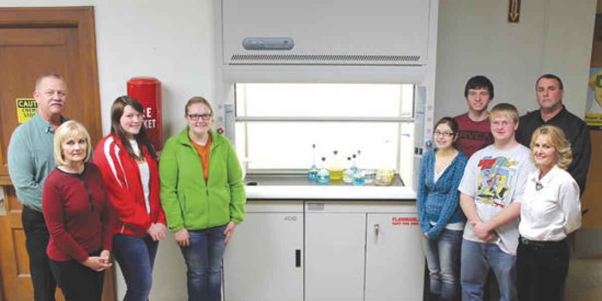 Fort Scott High School Fume Hood Article