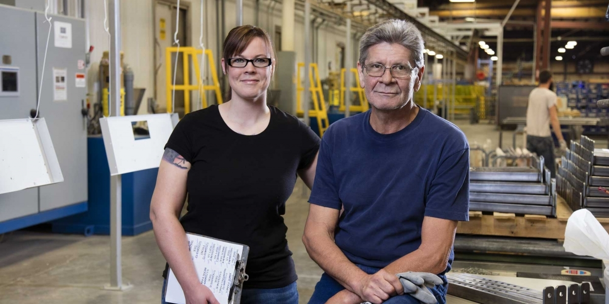 Friendly Faces at the Fort Scott Assembly Plant