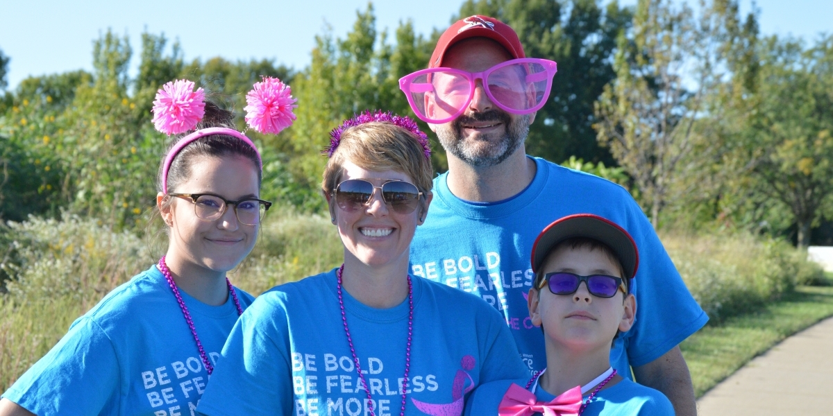 Keithley Family at Race for the Cure