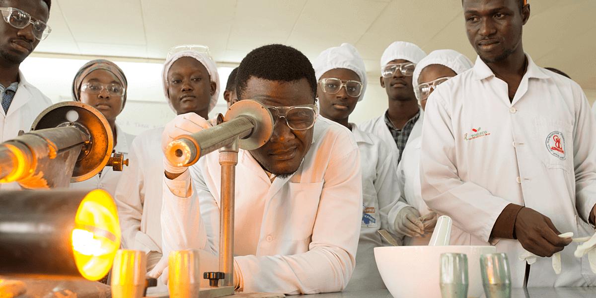 Help advance science around the world