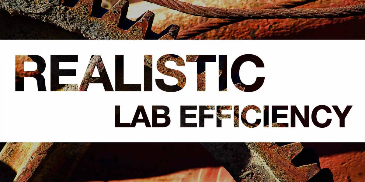Realistic Lab Efficiency